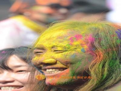 Holi Festival In Nepal