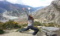 throungla pass trekking nepal