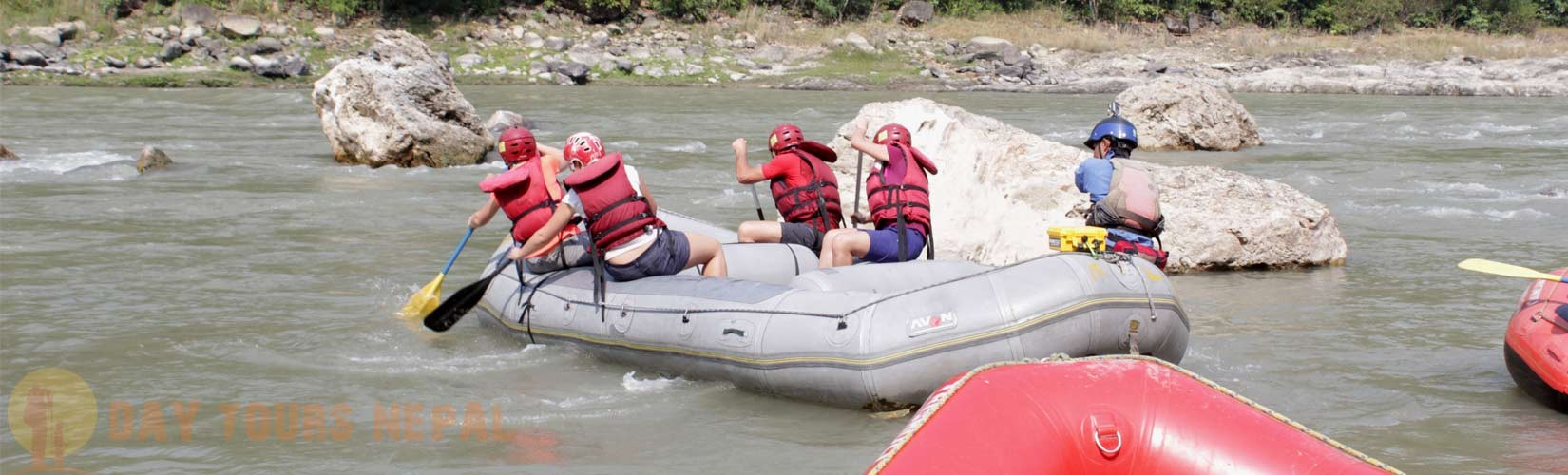 One Day Rafting in Nepal