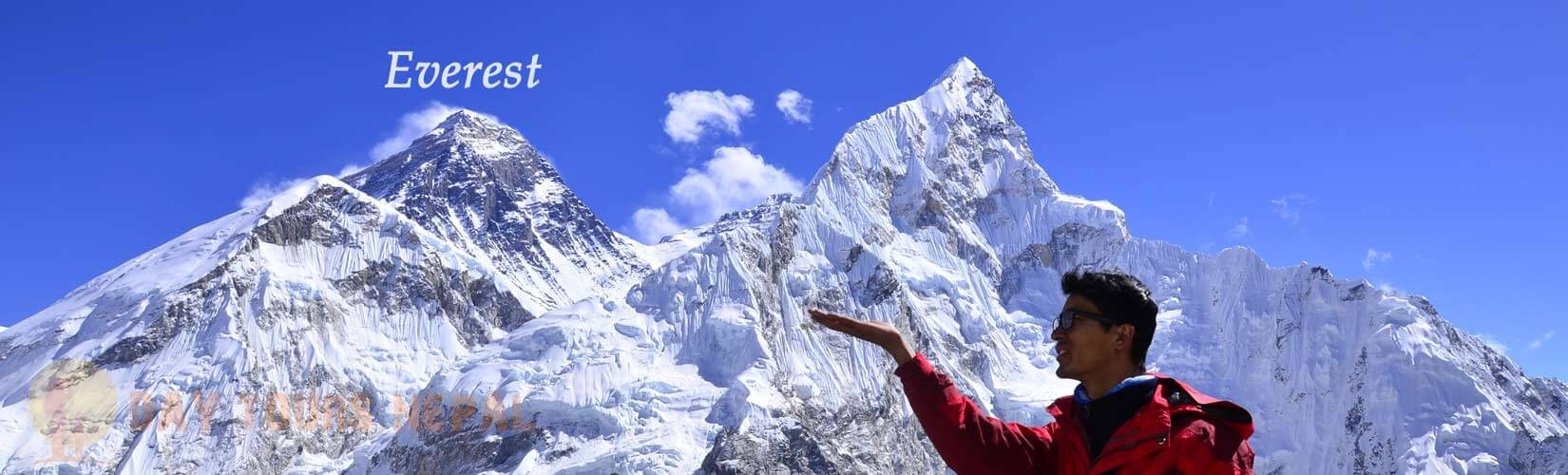 best viewpoints to see Mt. Everest
