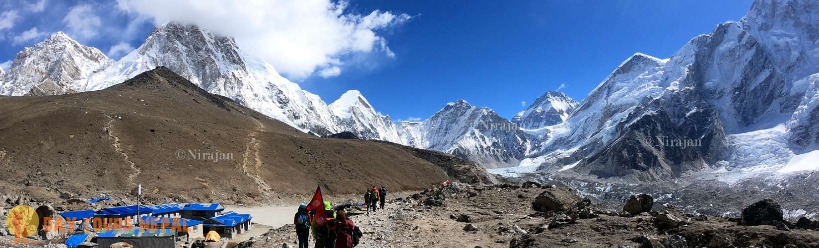 classic Everest base camp trekking