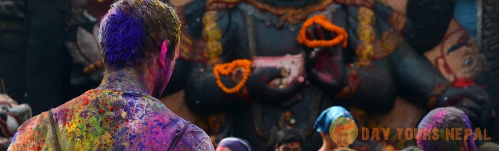 Holi Festival in Kathmandu Nepal