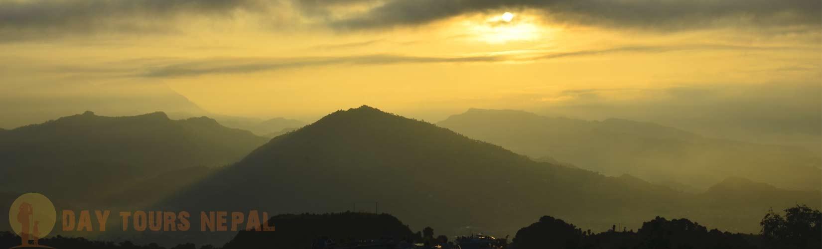 Pokhara Sunrise point sarangkot