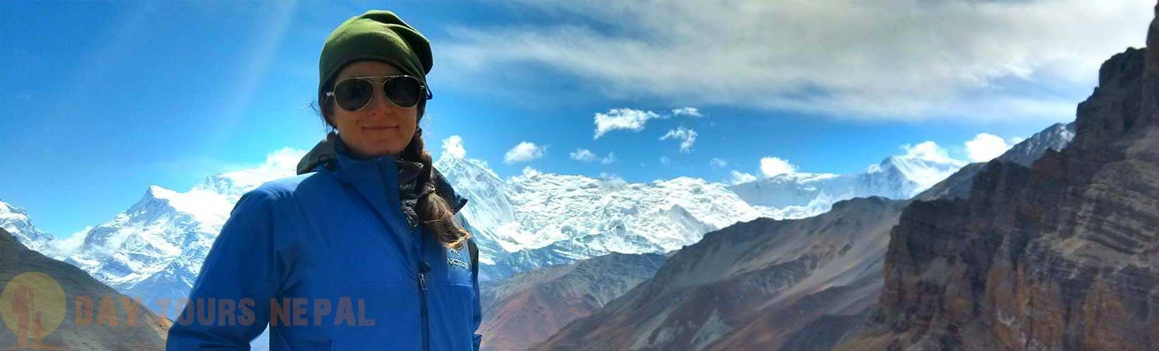 thorong la pass trek annapurna Day Tours Nepal