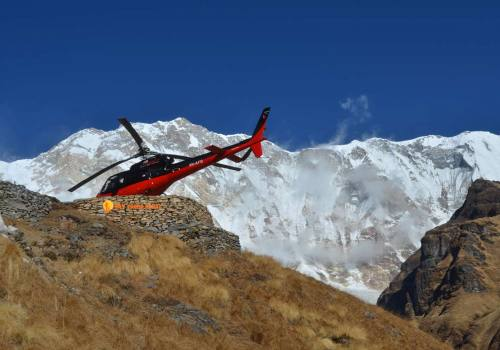 Daily Annapurna Base Camp Tour By Helicopter