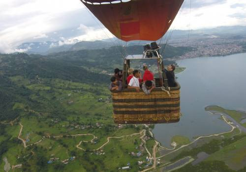 Hot Air Balloon Pokhara
