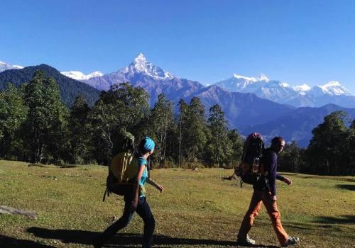 Pokhara Dampus Hike